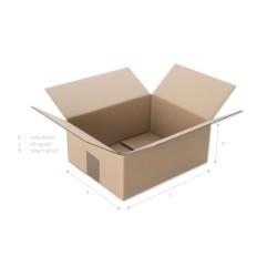 Pudełko klapowe 250x200x100...