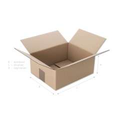 Pudełko klapowe 300x250x150...